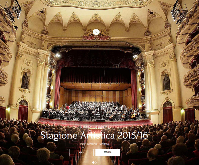 TEATRO FILARMONICO CON PIANO TRE